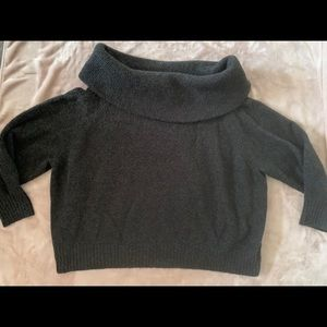 XL cowl neck sweater